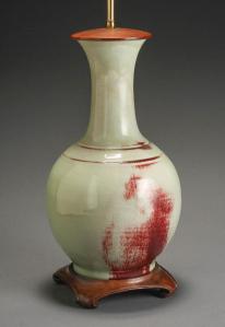 Flambe Vase